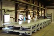 многофункциональные вибростолы для производства стеновых панелей